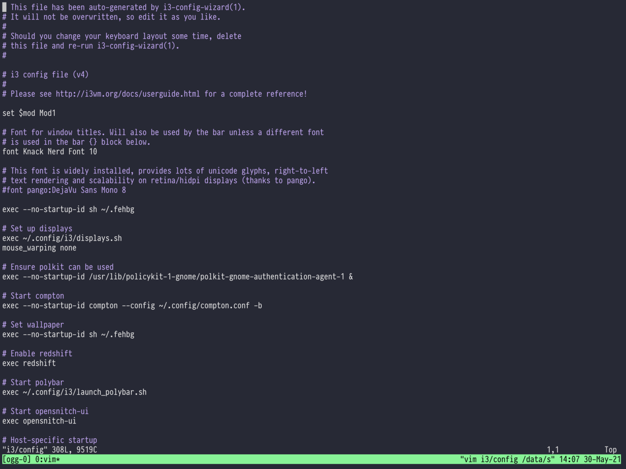 Blink into a tmux session over mosh